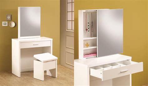 Makeup Vanity Table For Small Spaces Small Vs Large Dressing Tables Which One Is Better