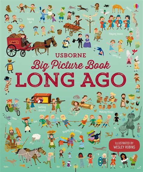 longer picture books big picture book of ago at usborne children s books