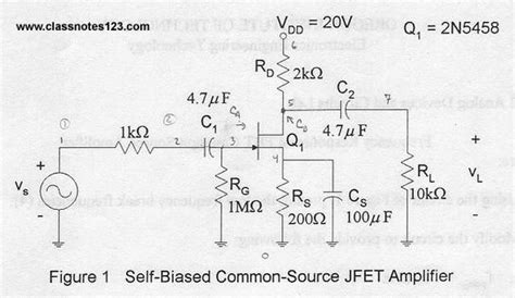 fet transistor lab fet transistor numericals 28 images simulating a fet lifier input impedance of an lifier