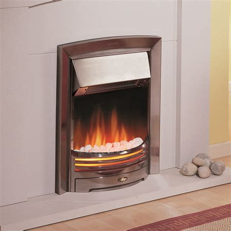dimplex electric fireplaces clearance dimplex adagio led electric in chrome adg20 020192