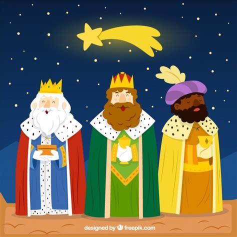 fotos reyes magos para descargar gratis divertida ilustraci 243 n de los reyes magos descargar