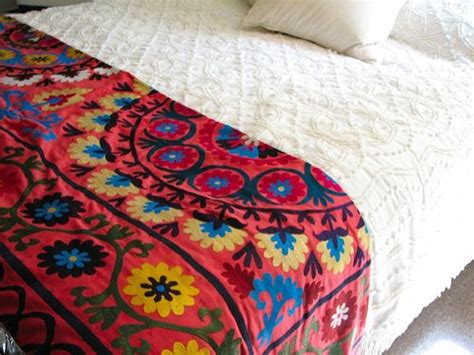mexican embroidered bedding 17 best images about suzani and other mexican bedding on