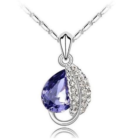 Kalung I You Hati Pria Wanita Necklace Dapat 2 Buah 1 acacia leaves necklace 925 sterling silver