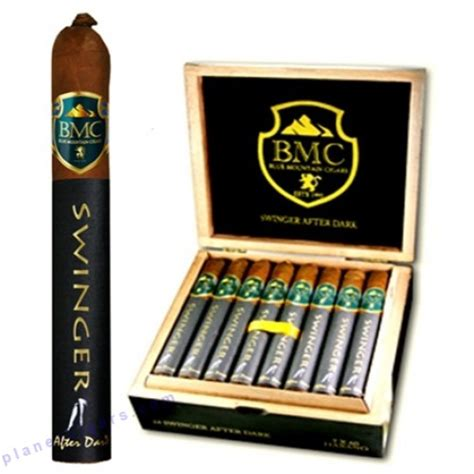 swinging after dark blue mountain swinger after dark cigars