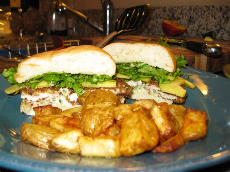 recipe 1 3 summer chicken sandwiches with homestyle potatoes