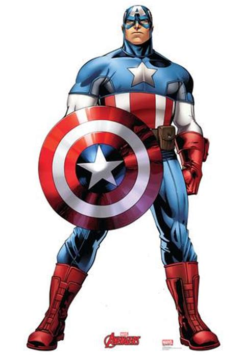 Poster Karakter Thor 2 40x60cm captain america marvel assemble lifesize standup cardboard cutouts at allposters