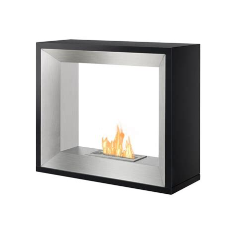 Ethanol Freestanding Fireplace by Tempo Series Freestanding Ventless Ethanol Fireplace Newbathroomstyle