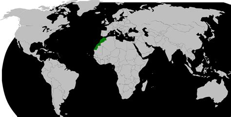world map of morocco morocco in world map factsofbelgium