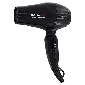 Babyliss Pro Hair Dryer Dual Voltage babyliss pro nano titanium bambino compact hair dryer dual voltage 5510