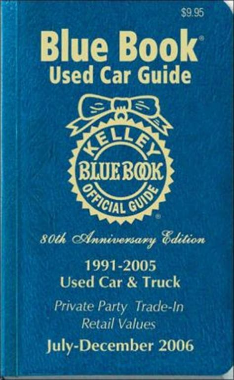 kelley blue book used cars value calculator 1995 toyota mr2 electronic valve timing kelley blue book used car guide 1991 1995 july december 2006 by staff of kelley blue book