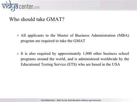 Is Gmat Required For Mba In Usa by Gmat Ppt