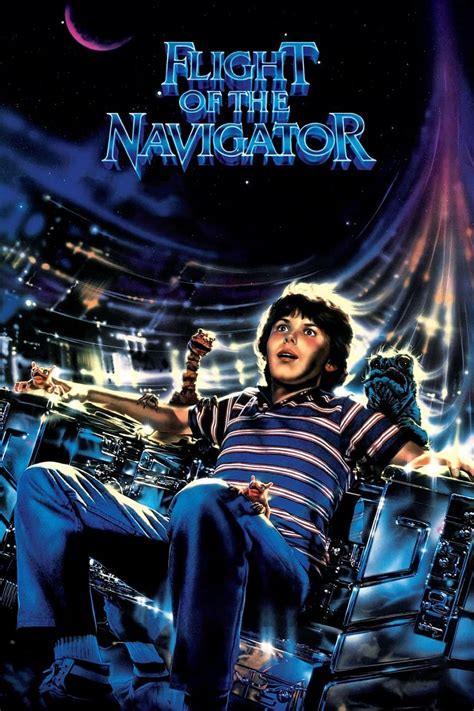 flight of the navigator 1986 posters the