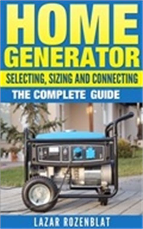 home generators types buying guide