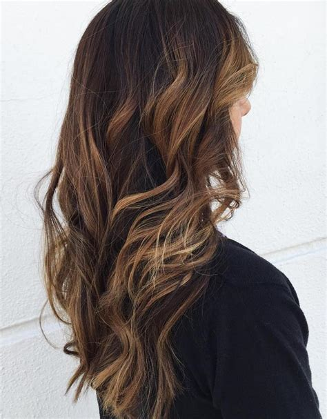 dark hair to light brown hair with light brown ends www pixshark com