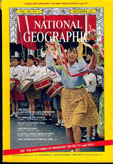 National Geographic 1971 Jual Satuan backissues national geographic december 1971 product details
