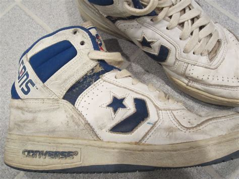 80s basketball shoes 1990s 80s converse vintage cons leather basketball high