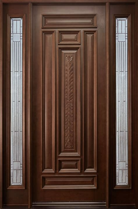 simple door designs for home single wooden design