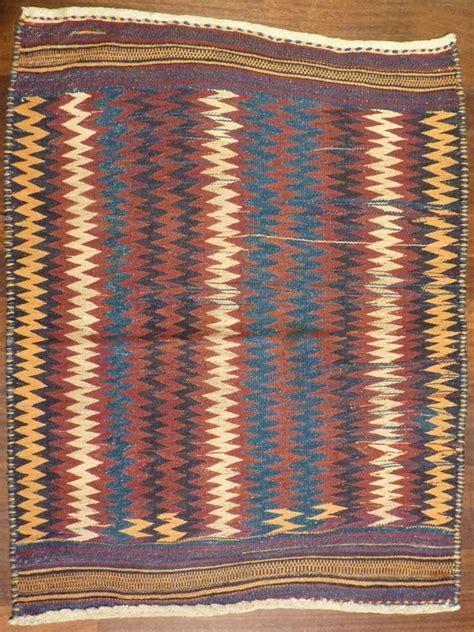 zig zag weaving pattern bakhtiari sofreh double interlock weave 123x93cms zig