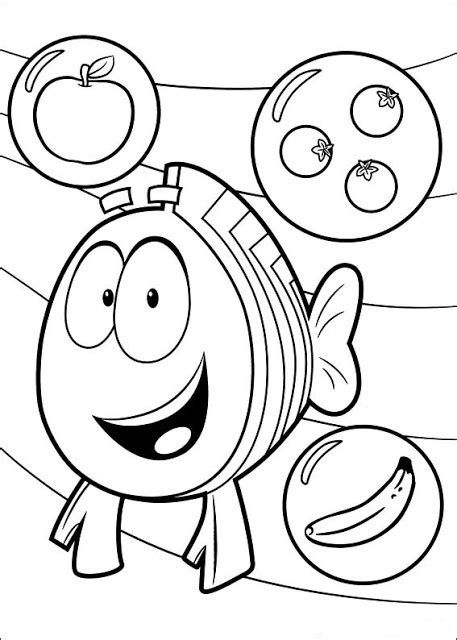 bubble guppies coloring pages games fun coloring pages bubble guppies coloring pages