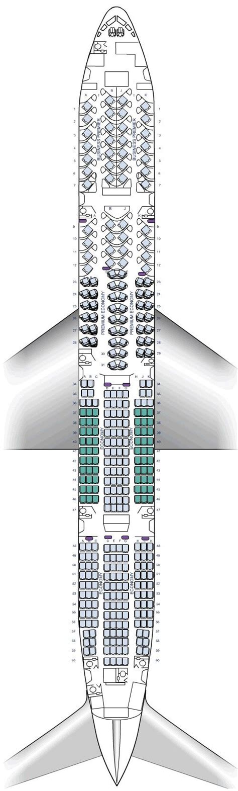 plan si鑒es boeing 777 300er air 25 best ideas about boeing 777 300er seating on