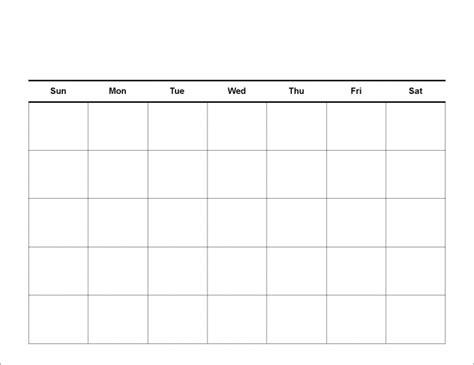 big box printable calendar  calendar printable