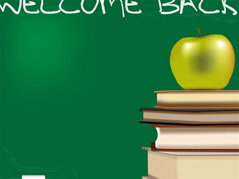 back to school powerpoint template free backgrounds for ppt