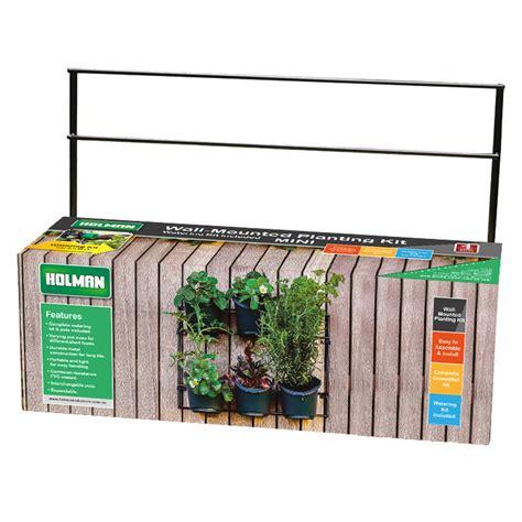 Holman Greenwall Vertical Garden Kit Wall Mounted Planting Kit Mini Holman Industries