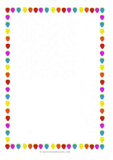 How To Make A Paper Border - a4 writing paper borders free printable lined writing