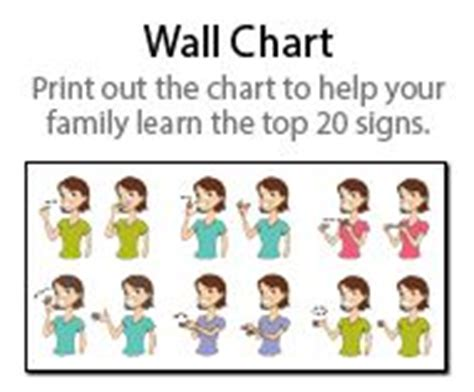 printable toddler sign language 1000 images about baby signs on pinterest sign language