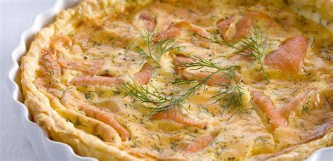 cucina torte salate torte salate veloci la ricetta con salmone e ricotta leitv