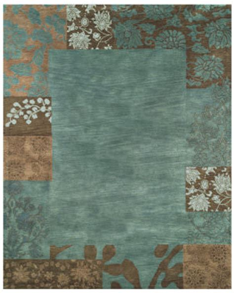 Brown And Aqua Area Rugs by Aqua And Brown At Rug Studio