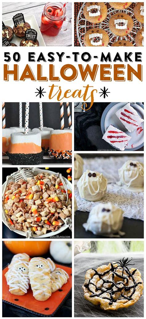 easy to make treats treats 50 easy to make treats