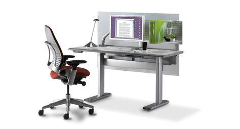 steelcase height adjustable desk shop steelcase series 7 electric height adjustable desk