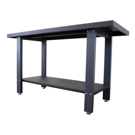 work bench table wen 59 in industrial strength steel work bench 31165