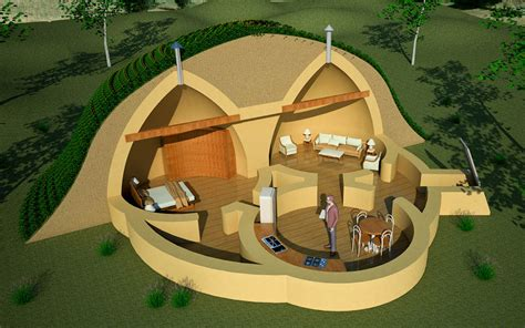 dome survival shelter earthbag house plans