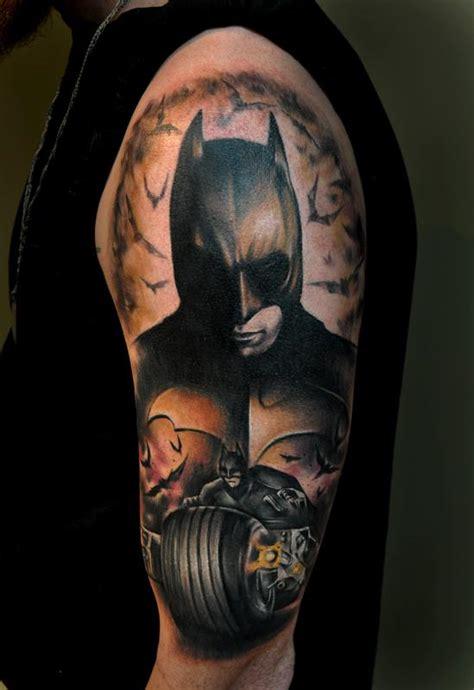 joker tattoo dark knight dark knight joker by benjamin laukis tattoonow