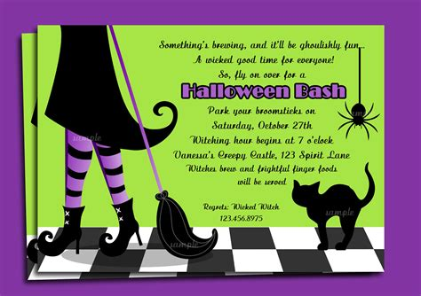 design halloween party invitation card halloween party invitation wording theruntime com