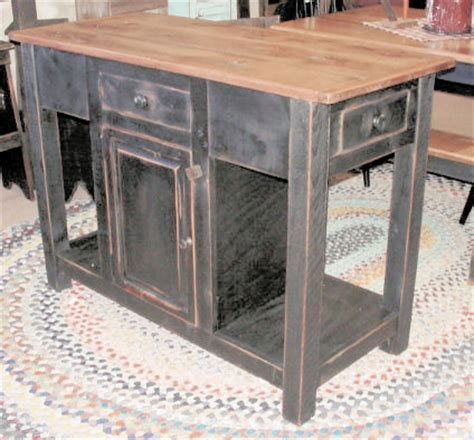 primitive kitchen island country primitives in ambridge pa