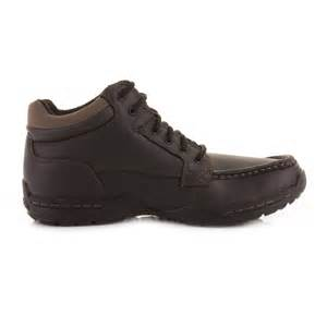mens skechers selton desire black walking work leather