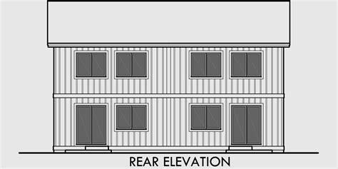 duplex row house floor plans duplex house plan row house plan open floor plan d 605