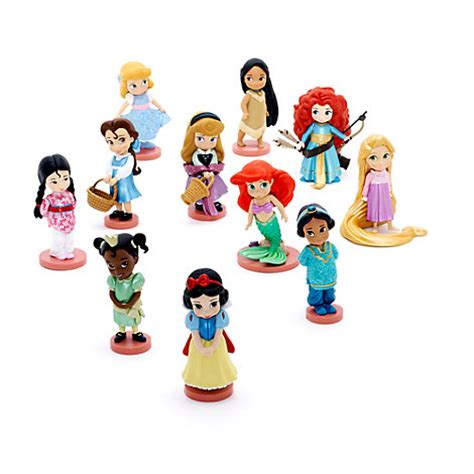 animated disney figures disney animators collection figuren spielset deluxe