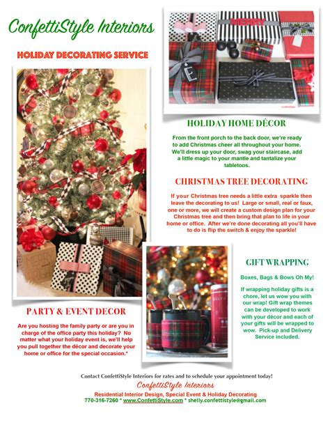 office holiday decorating contest flyer decor archives page 2 of 10 confettistyle