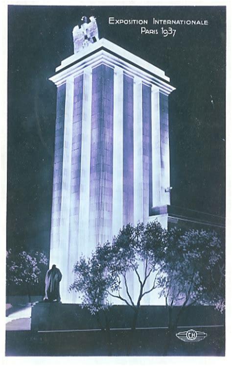 pavillon allemand 1937 acvfti l exposition universelle de 1937 224