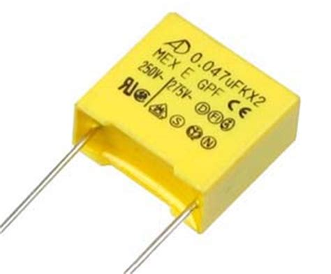 what is a x2 capacitor 0 047uf 250v metallised polypropylene x2 style capacitor technical data