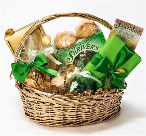 s day basket shriver s st s day or any occasion basket shriver s