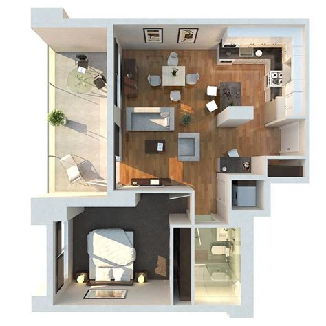 1 bedroom apartment furniture layout plantas de apartamento de um quarto limaonagua