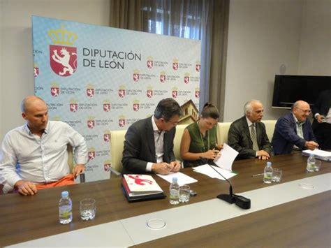 convenio comercio leon 2016 la diputaci 243 n firma un convenio con ata castilla y le 243 n
