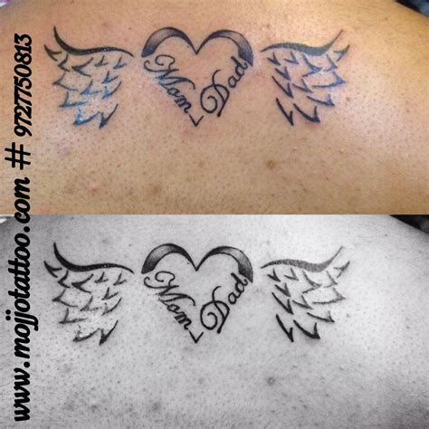 tattoos dedicated to parents dedicated to parents made by vaishali at mojjo