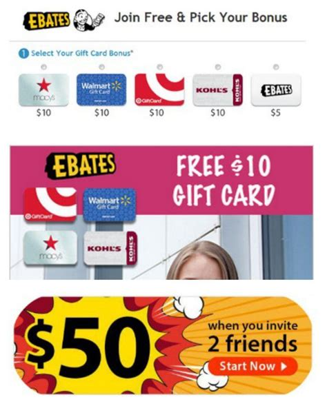 Ebates Free 10 Gift Card - pin by slickhousewives on best of slickhousewives pinterest