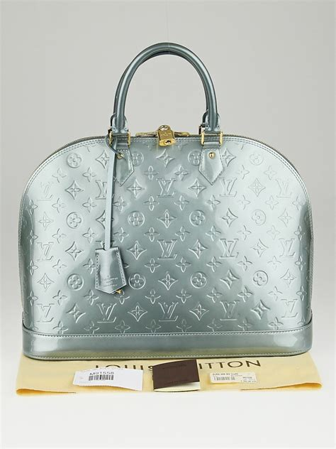 louis vuitton givre monogram vernis alma gm bag yoogis